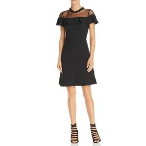 Nanette Lepore Gypsy Rose Ruffled Cocktail Dress
